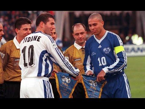 Ronaldo vs Zidane  World All Stars vs Europe All Stars 1997