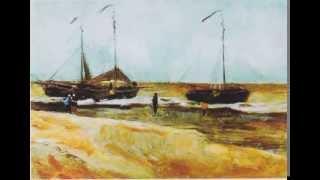1882年8月にスヘフェニンゲンの浜辺を描いたもの。 ゴッホが画家として...