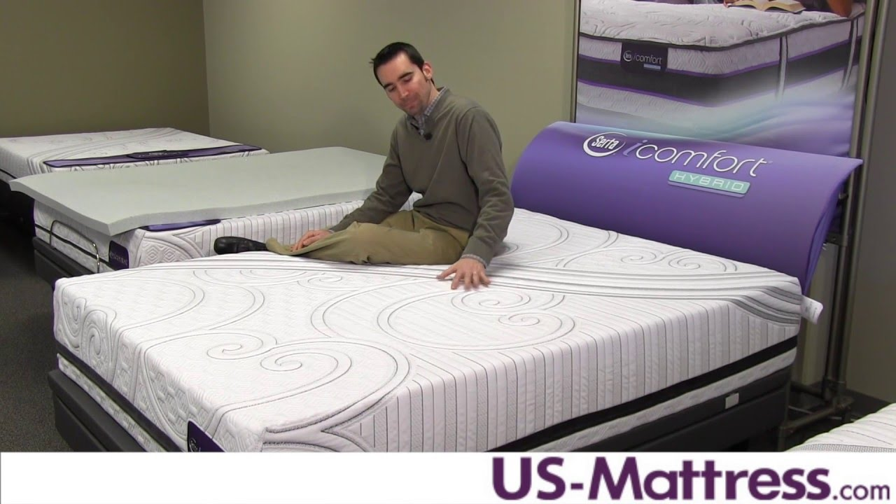 Serta Icomfort Savant Iii Cushion Firm Mattress Expert Review Youtube