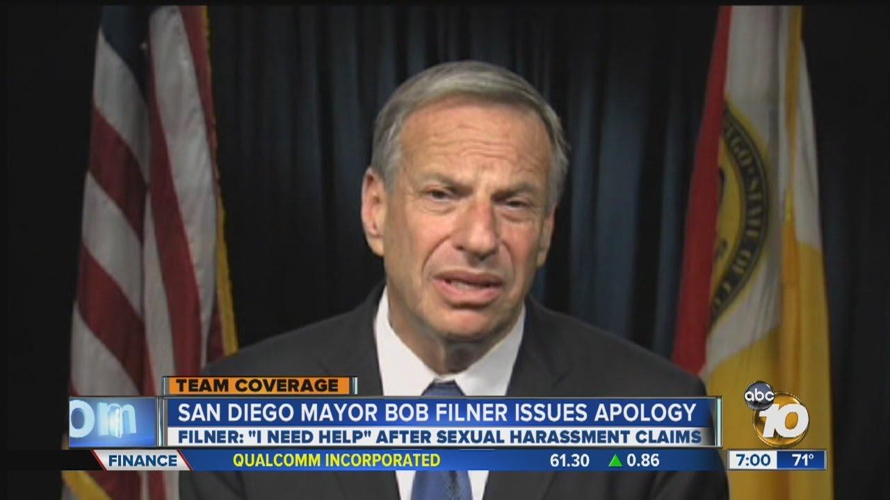 Bob filner sexual harassment allegations