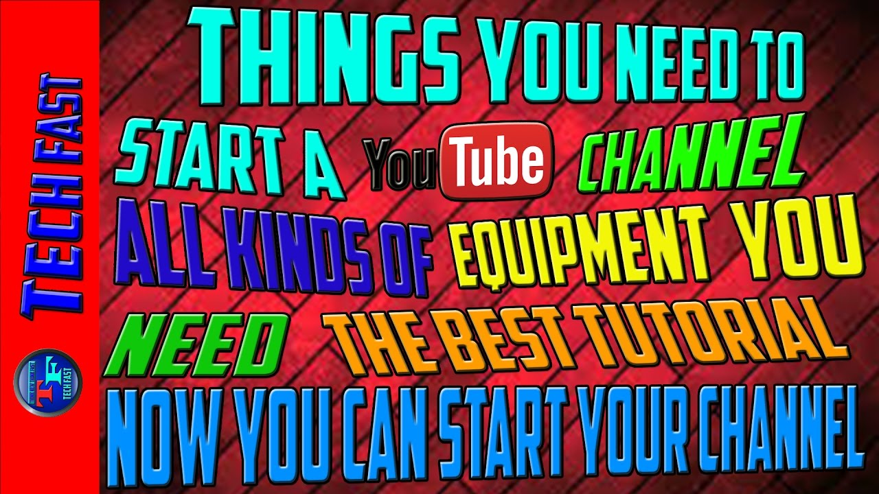 Vital Equipment You Need To Start A Youtube Channel In Hindi