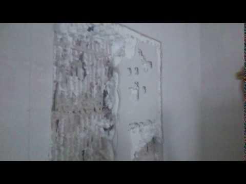 Styro Stone - Remove plaster / Putz entfernen