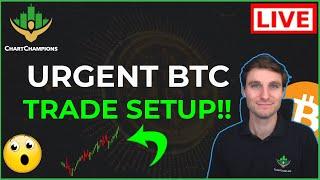 🚨URGENT BTC TRADE FRACTAL!!!! Bitcoin Technical Analysis.