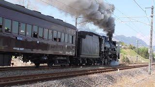2021年4月11日 蒸気機関車D51 498牽引 「SLぐんま よこかわ」 、見つかる可能性...3%!!の「矢絣」柄ライン211系に思わず手元が震える(笑)  信越線 磯部~松井田 間