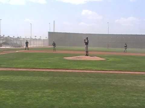 Spring Training 2009: Lonnie Chisenhall vs The Wind
