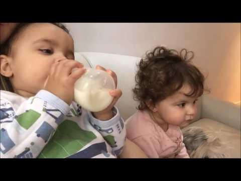 Vlog - Rotina de gêmeos de um ano e meio
