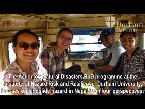 Action on Natural Disasters Trip to Nepal