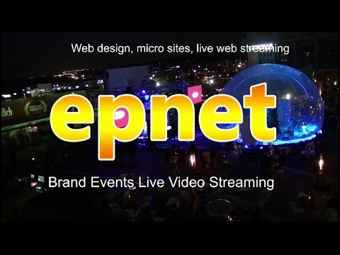 Web design South Africa microsites live web streaming