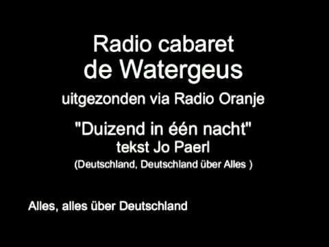 Radio Cabaret de Watergeus - Duizend in één nacht