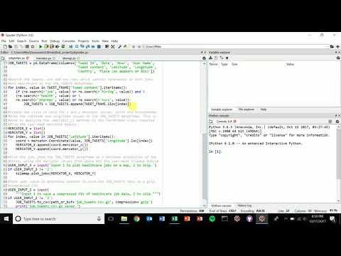 Plotting Geo-located Tweets with Python