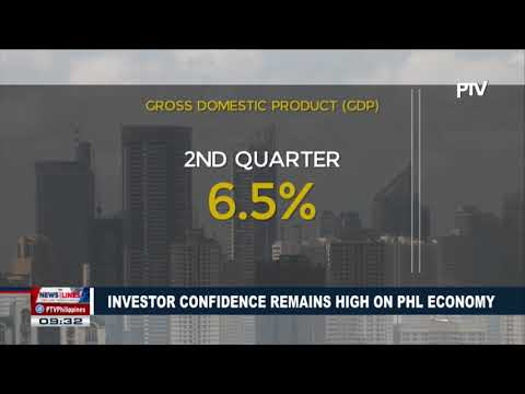 Investor confidence remains high on Philippine Economy