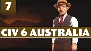 Civilization 6 - Let's Play Australia - Part 7 [Civ 6 Modded Gameplay with AI+]