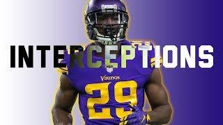 Minnesota Vikings - Every Interception of 2017
