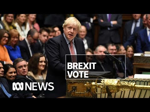 boris-johnson-wins-commons-vote-on-brexit-deal-in-time-for-christmas-|-abc-news