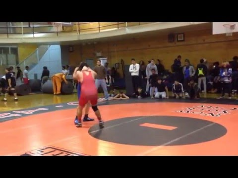 Randy - DeWitt Clinton wrestling tournament finals 2015