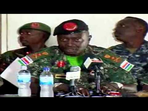 Press statement by chief of defense staff Ousman Badou