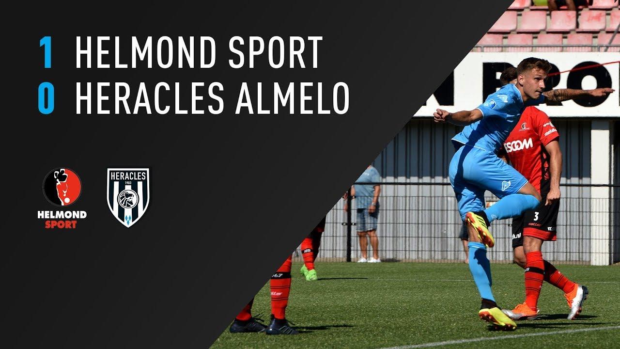 Helmond Sport - Heracles Almelo 1-0 | 05-08-2018 | Samenvatting