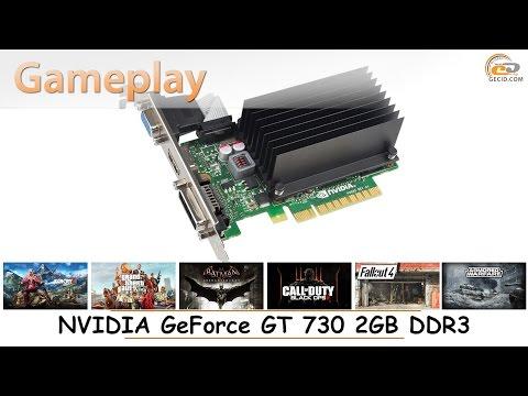 NVIDIA GeForce GT 730 2GB DDR3: gameplay в 17 популярных играх