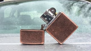 Update on my Antique Copper Zippo after 3 months