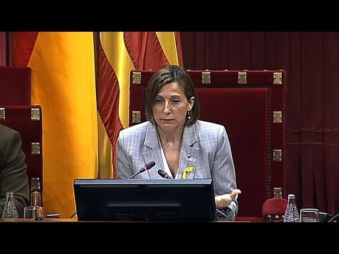 Spain's Supreme Court calls on Catalonia's parliament speaker to testify