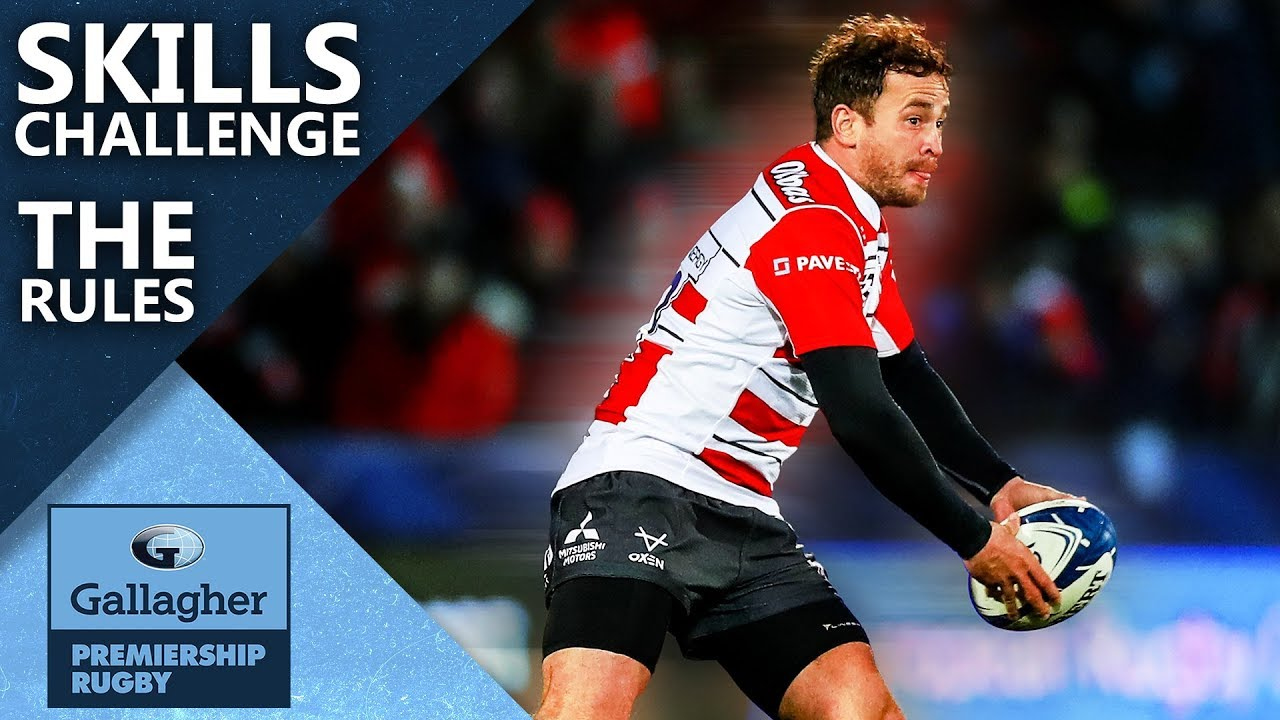 Premiership Rugby Skills Challenge! | The Rules | Gallagher Premiership Rugby 2020