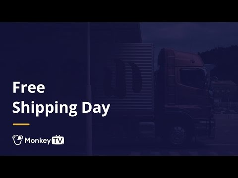 3 Free Shipping Day Tips