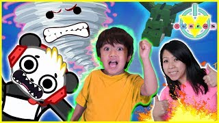 Roblox Escape the Disasters Let's Play with Ryan, Combo Panda, and MORE!