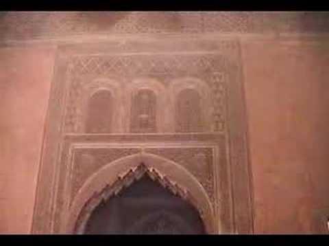 marrakesh - saadian tombs مراكش ضريح السعديين