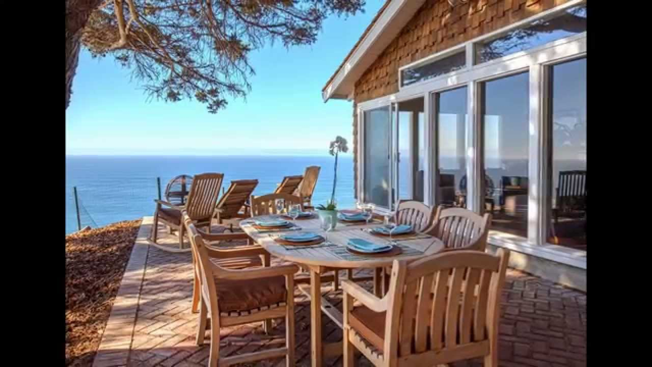 Cliff House, Big Sur, CA Vacation Rental - YouTube