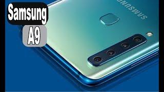 Galaxy A9 (2018) é o primeiro smartphone intermediário da Samsung c...