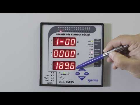 RG3-15 CLS Power Factor Controller Active Export and Import Energy