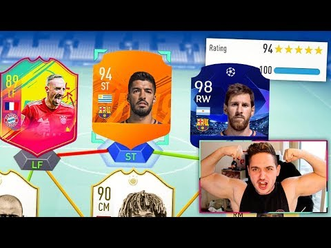 98 UCL MESSI IN THE MOST INSANE 194 RECORD BREAKING FUT DRAFT CHALLENGE! - FIFA 19 thumbnail