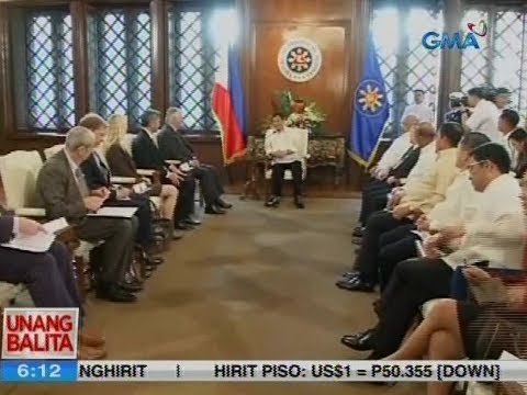 UB: Pres. Duterte at U.S. Sec. of State Tillerson, nagpulong sa palasyo