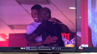 Michael Jordan and Scottie Pippen Reunite!!!!
