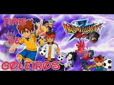 ☠ Inazuma Eleven GO Strikers 2013 ☠ INAZUMA JAPÃO VS TIME DE GOLEIROS