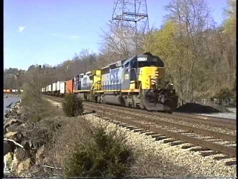 CSX 2000 Hudson Riverline first months