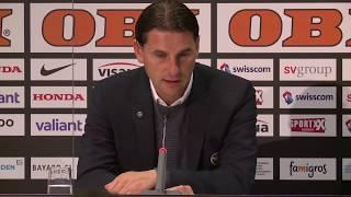 Pressekonferenz nach YB - FC St. Gallen (2:0)