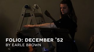 Southland Ensemble: December 1952 by Earle Brown