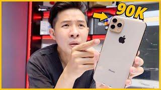 ĐỘ iPHONE XS MAX THÀNH iPHONE 11 PRO MAX CHỈ VỚI...90K