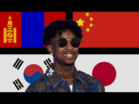 Best Modern Rap Around East Asia [China/Korea/Mongolia/Japan]