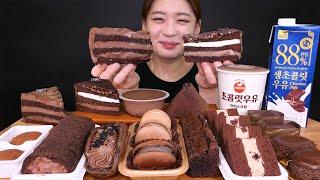 Chocolate dessert다시 돌아온 편의점 초코…