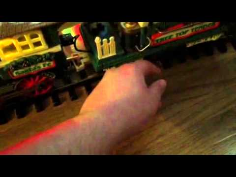 Musical Holiday Express Animated Train Set