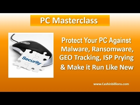 PC Masterclass | PC Speed Up | Security & Privacy Masterclass