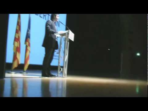 Acte inici de campanya Solidaritat Catalana per la...