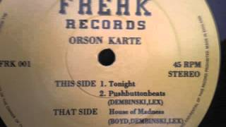 Orson Karte - Tonight