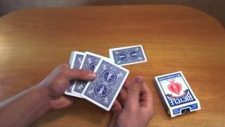 Бесплатное обучение фокусам #14: Карточные фокусы для начинающих!
