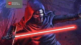 All Kylo Ren scenes in Star Wars 7 The Force Awakens