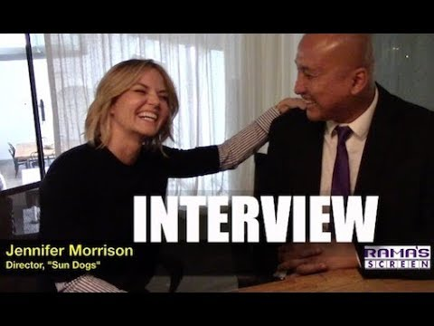 My  with Jennifer Morrison About Her Feature Film Directorial Debut, 'SUN DOGS'