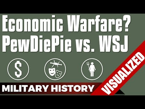Economic Warfare? PewDiePie vs. WSJ #YouTube