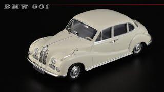 BMW 501 • Minichamps • Масштабные модели автомобилей БМВ 1950-х